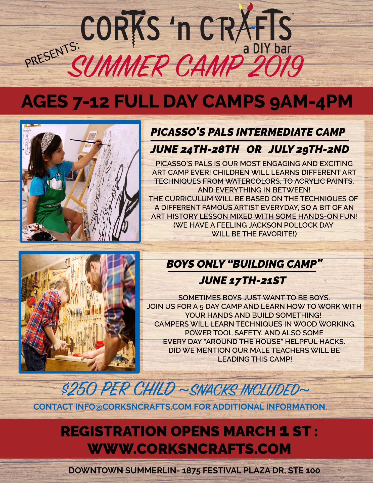 Summer Camp 2019 intermediate back