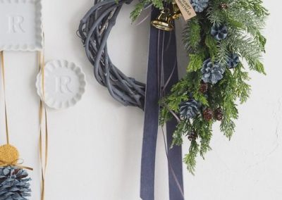 DEC Velvet Wreath