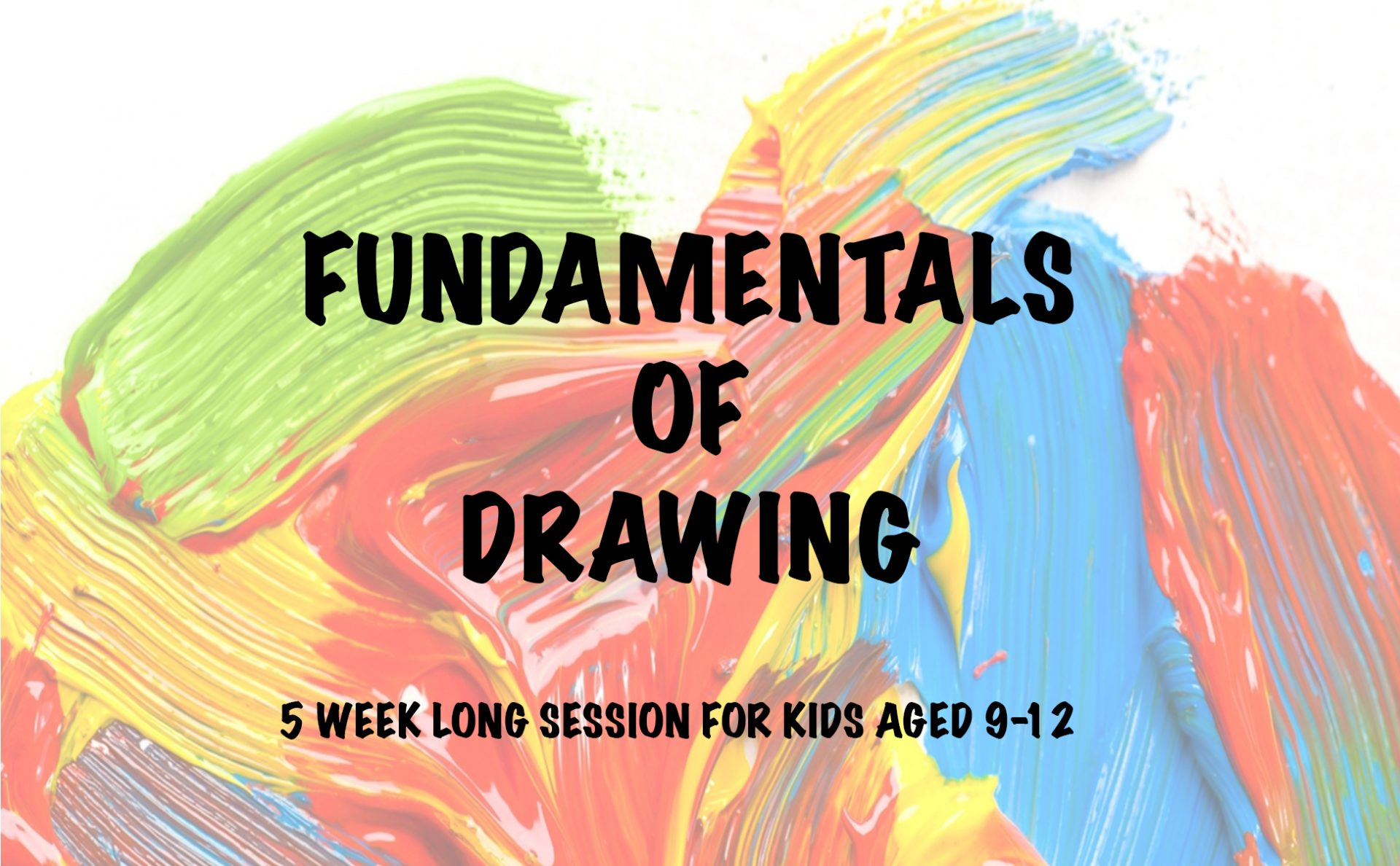 fundamentals of drawing for kids