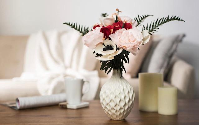 paper flower bou