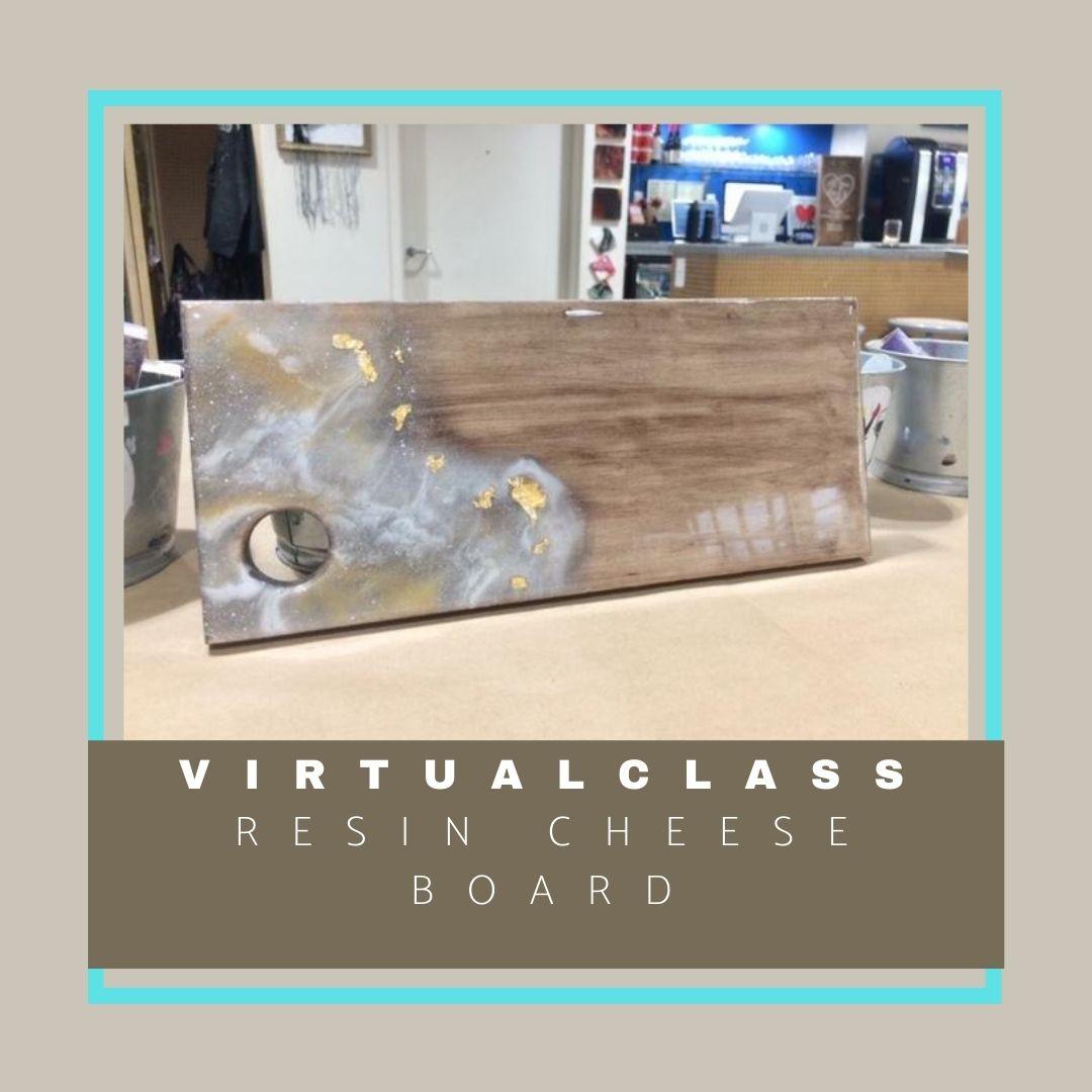 virtual class cheese board