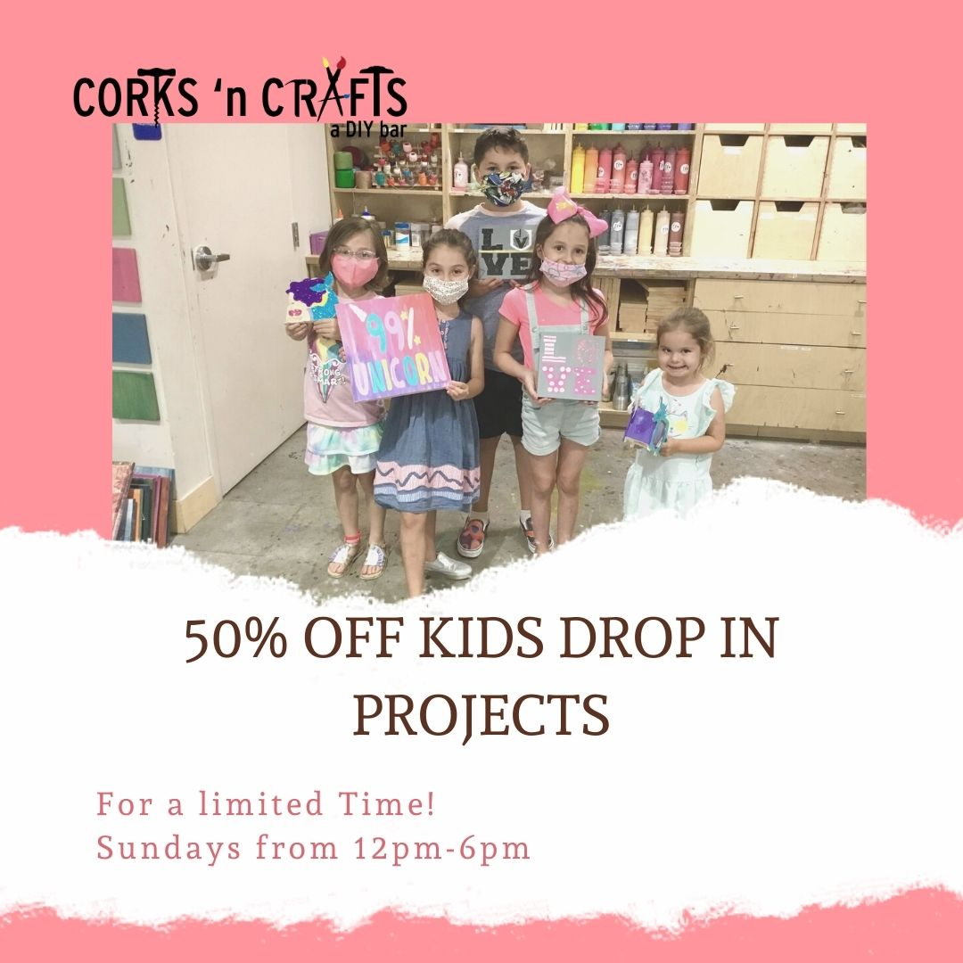 half off kids projects